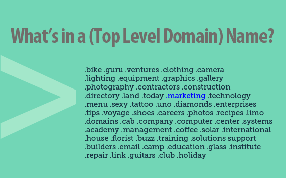 What's in a (top level domain) name?