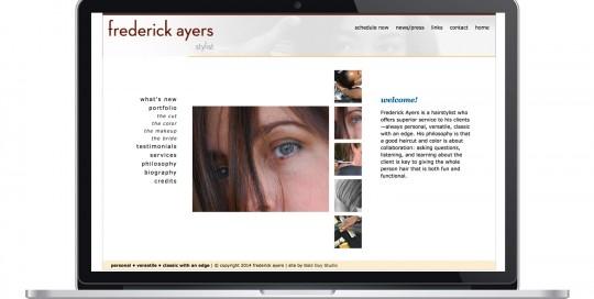 Frederick Ayers, Stylist