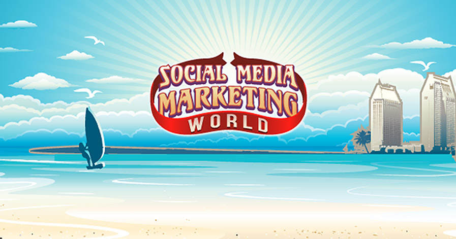 Social Media Marketing World 2017 Beach and Sailboats