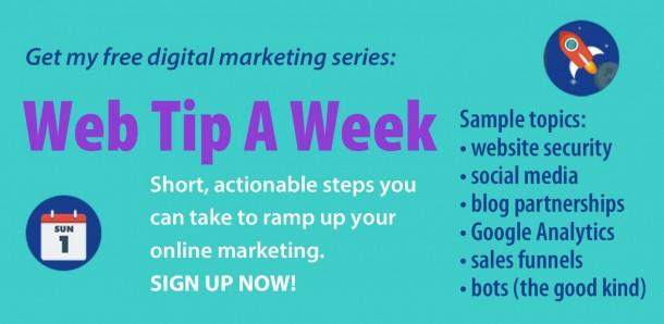 Web Tip a Week